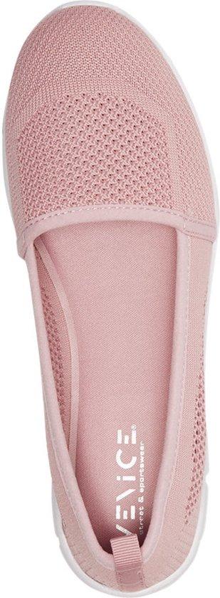 Venice Dames Roze ballerina sportief Maat 37