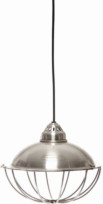 Riverdale Hanglamp Vintage.Bol Com Riverdale Vintage Hanglamp 25 Cm Zilver
