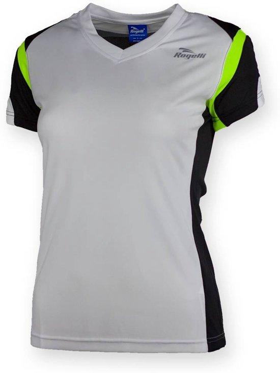 Eabel T-shirt dames - Wit/Fluor  - Rogelli