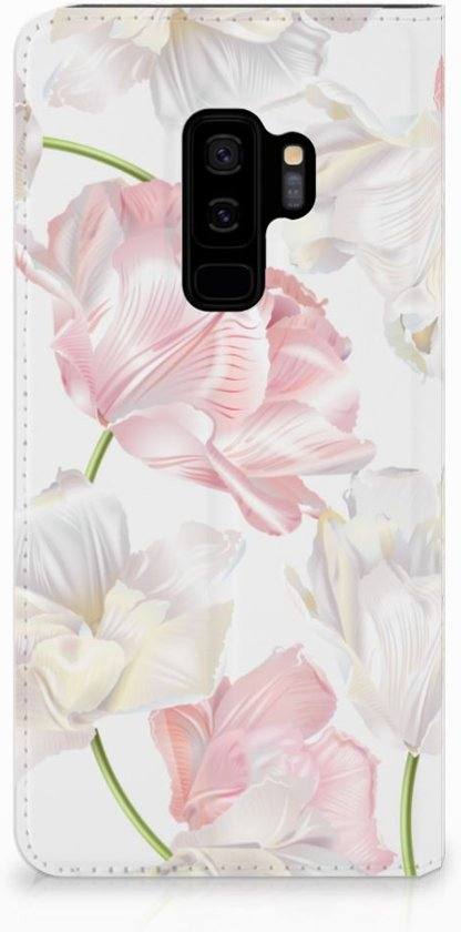 Samsung Galaxy S9 Plus Standcase Hoesje Design Lovely Flowers