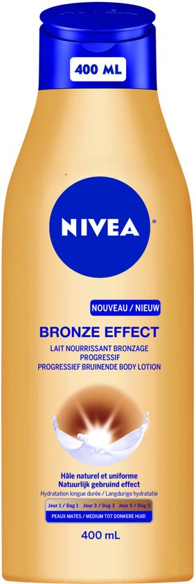 NIVEA Bronze Effect Body Lotion - Medium tot Donkere Huid - 400 ml