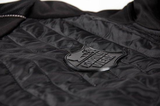 Wear 4xl Gorilla Front JacketZwart Jefferson zilver Padded thdCBsQrx