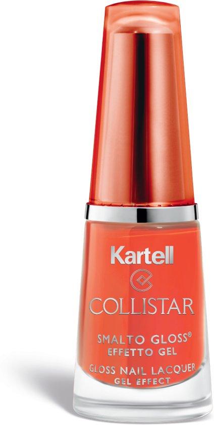 Collistar Gloss Gel Effect - 544 Mobil Orange - Nagellak
