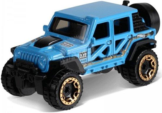 706ad70138f973 bol.com | Hot Wheels Baja-blazers Auto Jeep Wrangler 7,5 Cm Blauw ...
