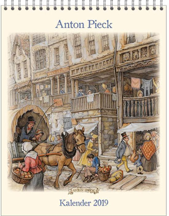 Anton Pieck Kalender 2019