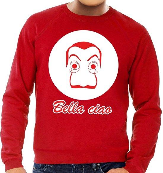 Rode Salvador Dali sweater voor heren L