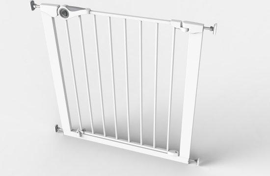 Noma Pressure Fit Gate - Traphekjes (75 - 82 cm) - Wit