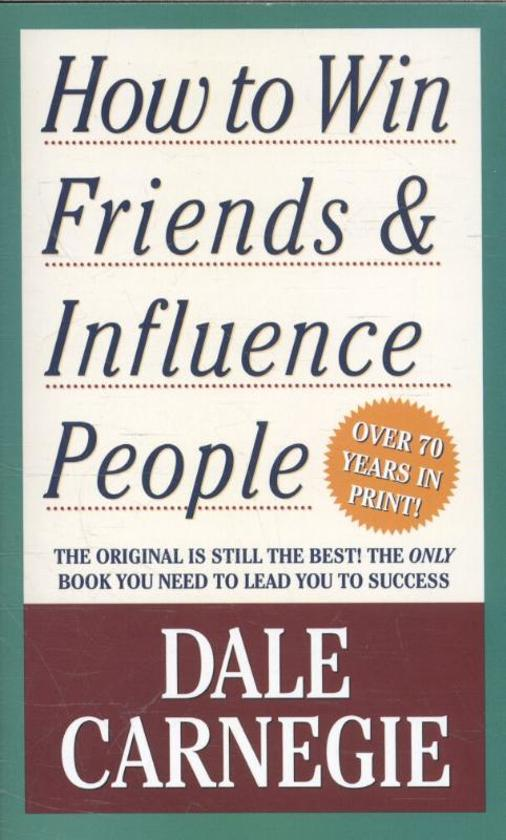 Boekomslag voor How to Win Friends and Influence People