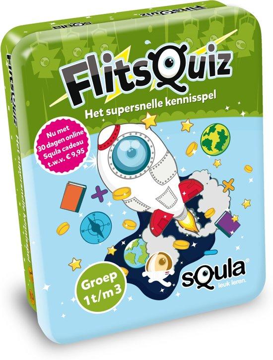 Afbeelding van het spel Squla flitsquiz groep 1 2 3 - Kaartspel