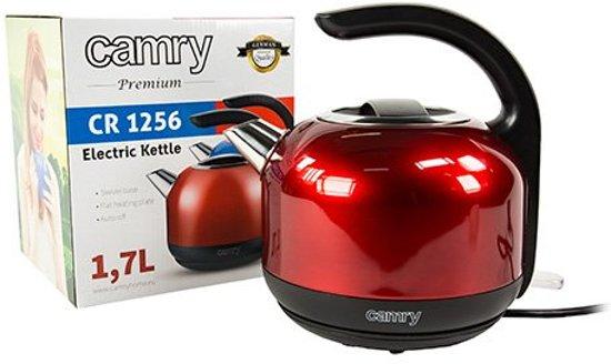 Camry CR 1256r - Waterkoker - rood - 1.7 L