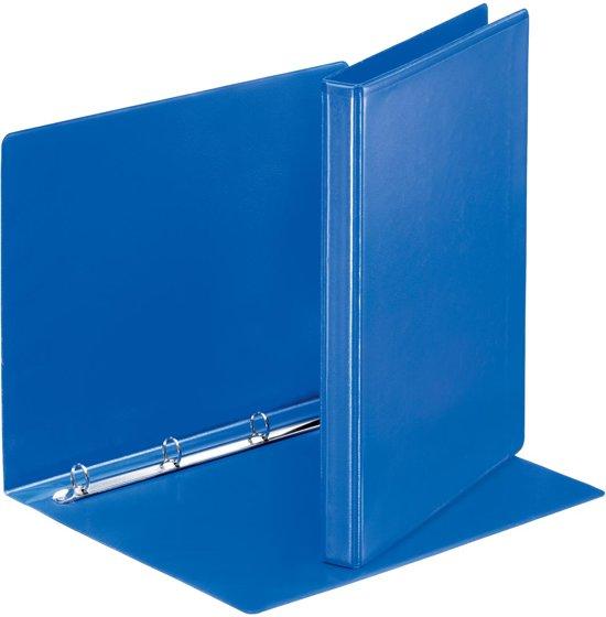 20x Esselte personaliseerbare ringmap, rug van 3cm, 4 O-ringen van 16mm, blauw