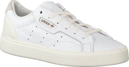 | Adidas Dames Sneakers Sleek W Wit Maat 38⅔
