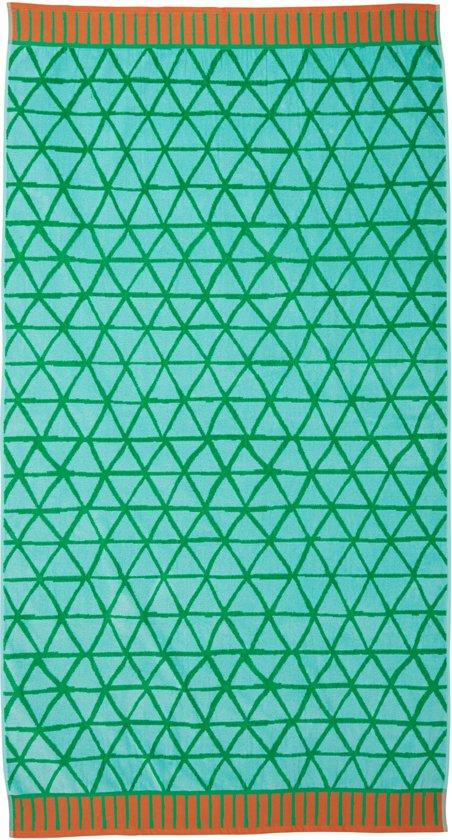 KAAT Amsterdam - Strandlaken Flip Flop - 100x180 cm - Groen