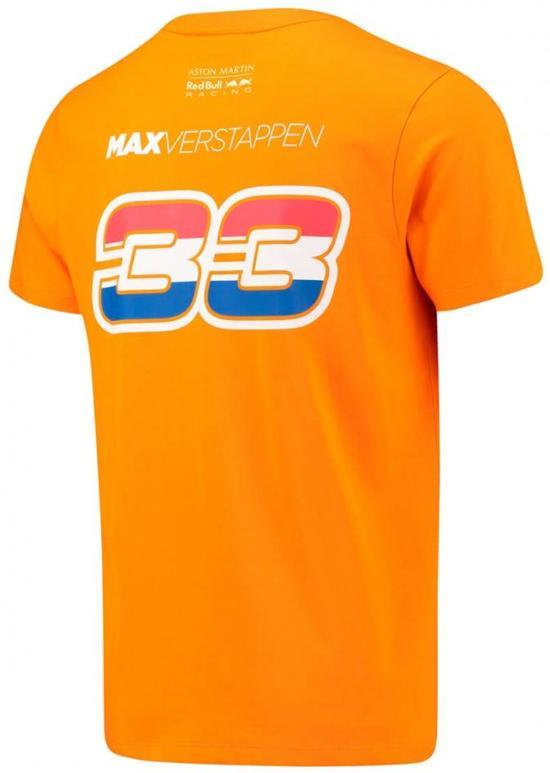 Red Bull Racing Red Bull Racing 33 Oranje T-shirt