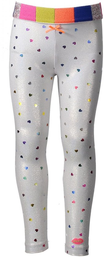 Kidz Art Meisjes Legging Fancy Coated Fabric - Dessin - Maat 98
