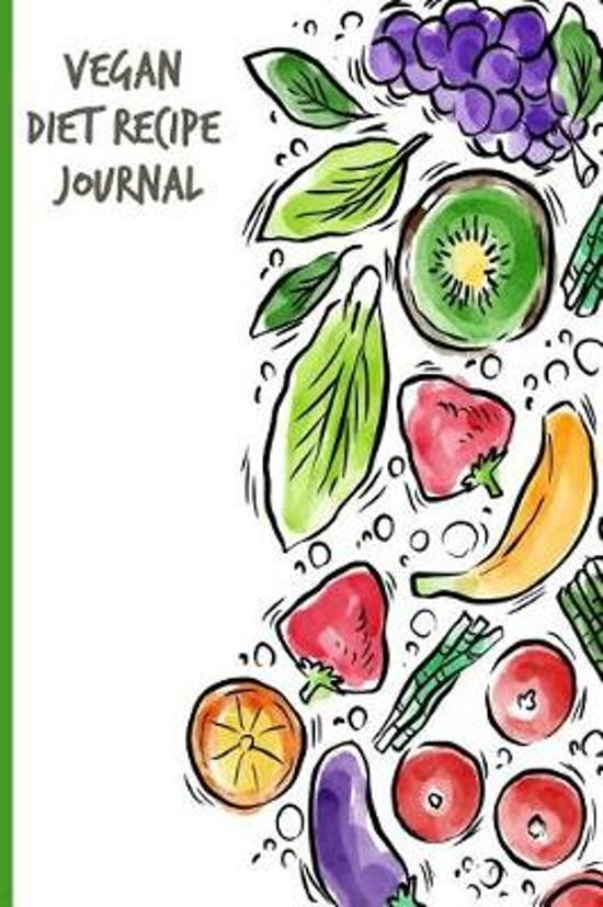 Vegan Diet Recipe Journal