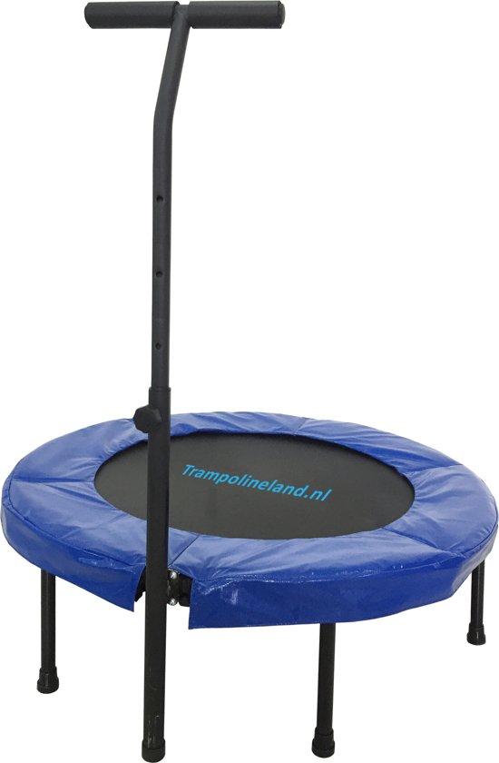 Trampolineland Deluxe trampoline met beugel 96 cm Roze