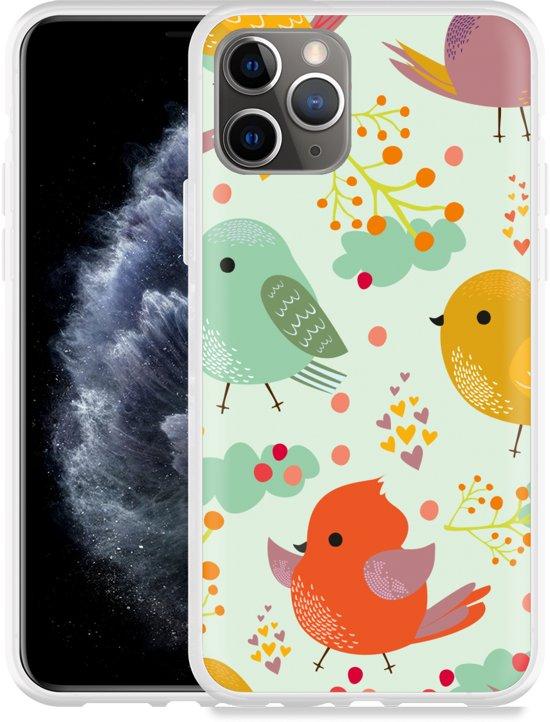 Apple iPhone 11 Pro Hoesje Cute Birds
