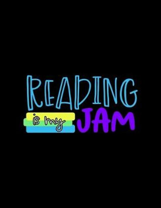 Reading Is My Jam: Weekly Homework Organizer Elementary, Middle and High School Academic Planner Log