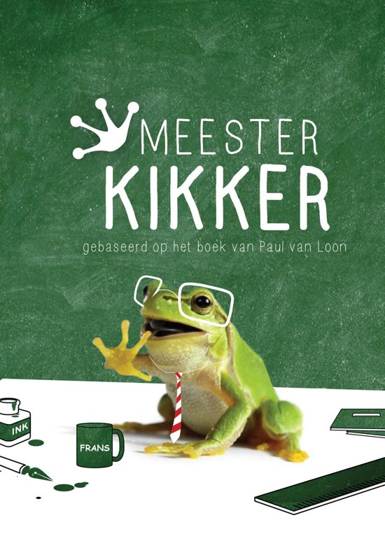 Boek cover Meester Kikker filmeditie van Paul van Loon (Hardcover)