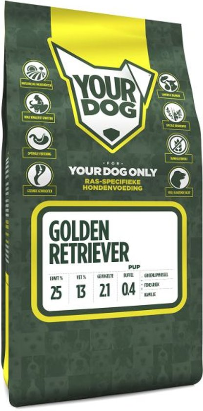 Yourdog Golden Retriever Pup - 3 KG