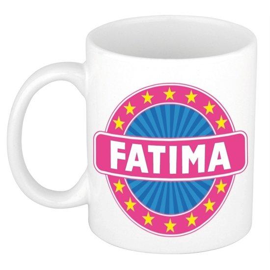 Fatima naam koffie mok / beker 300 ml  - namen mokken