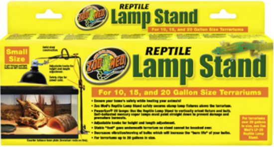 Reptile Lamp Stand Small