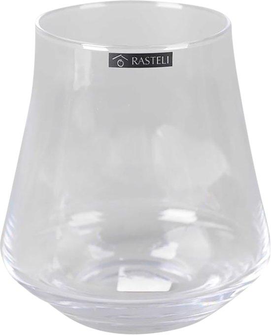 Rasteli Vaas-Bloemvaas Eleganza Glas D 15.5 cm H 17 cm