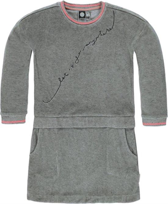 Tumble 'N Dry Meisjes Jurk - Grijs - Maat 104