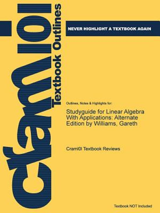 Studyguide for Linear Algebra with Applications