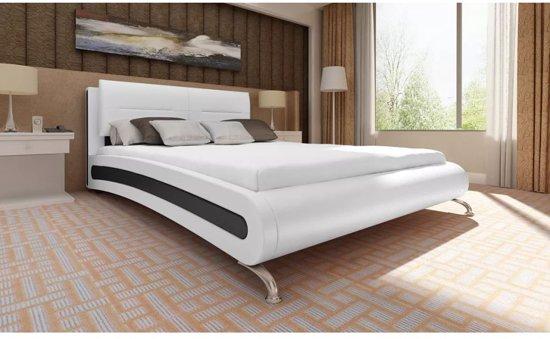 Bed 140x200 Wit.Bol Com Vidaxl Emperor Bed Wit 140 X 200 Cm