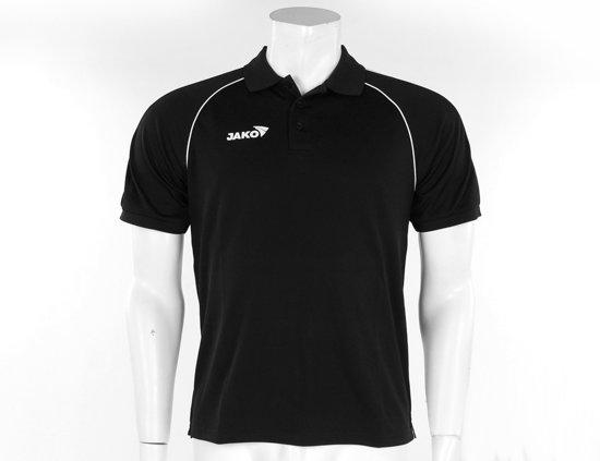 Jako Polo Attack Men - Sportpolo -  Heren - Maat 140 - Black;White;Gold