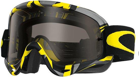 Bolcom Oakley Crossbril O Frame Mx Intimidator Gunmetalyellow
