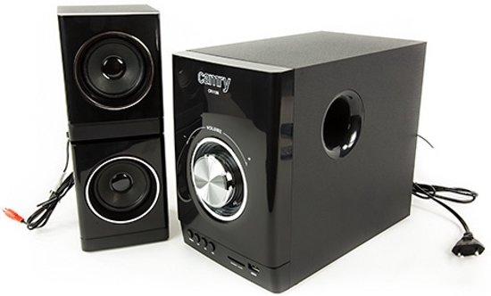 Camry CR 1136 - Radio set - met 2 boxen - afstandsbediening - zwart