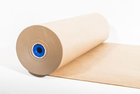 Natronkraft inpak-papier op rol 100cm, 70grams, 1 rol (040.0120)