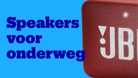 Speakers voor onderweg