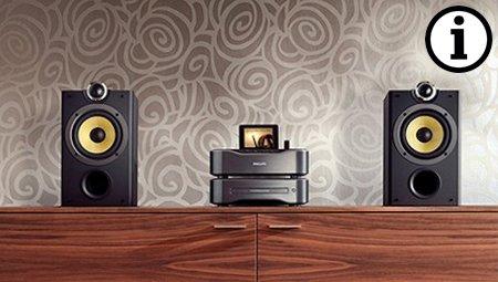 Meer informatie over audio voor thuis