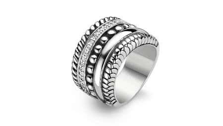 stoere dames ringen zilver