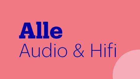 Alle audio & hifi