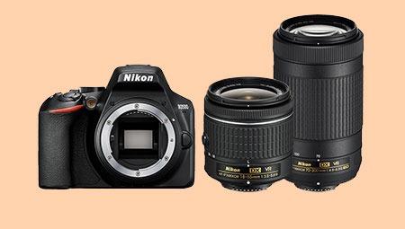 Nikon D3500 + 2 lenzen