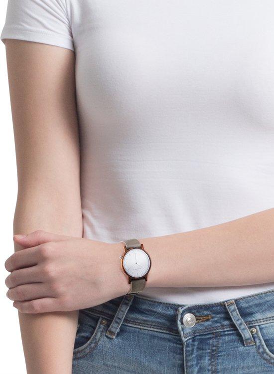 Kerbholz Wilma Walnut Horloge
