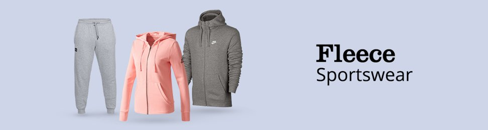   Fleece sportkleding