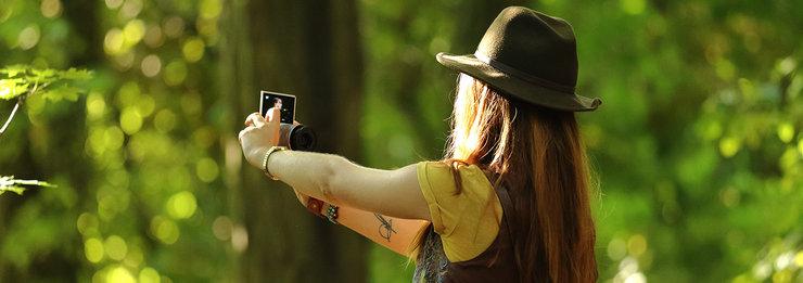 Canon EOS M10 selfie modus