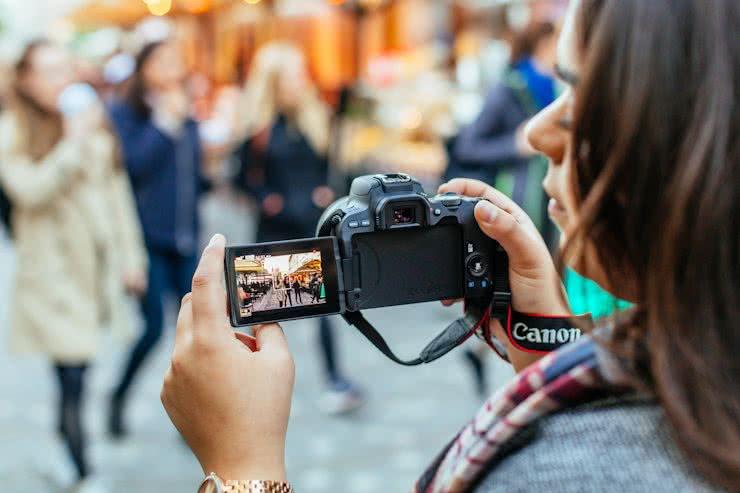 Canon EOS 200D Spiegelreflexcamera Spiegelreflexcamera