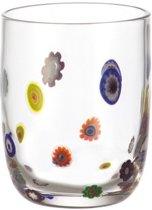 Leonardo Millefiori Waterglas - 6 stuks