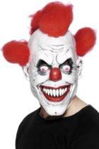 Angstaanjagend clownsmasker voor volwassenen Halloween - Verkleedmasker - One size