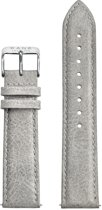KANE Watches Urban Grey Leather Strap Silver Buckle