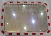 Verkeerspiegel Rechthoek PP-CM 60 x 40 cm