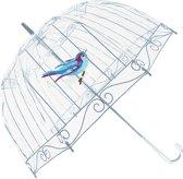 Doorzichtige paraplu Lulu Guinness Birdcage