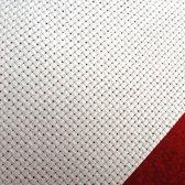100 x 130 cm Aida 14 Count witte borduurstof - 5,4 kruisjes per cm borduurstramien wit